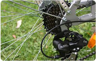 transmission vélo de ville électrique