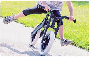 draisienne, vélo sans pédales