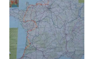 Parcours vélo tandem en France du nord au sud