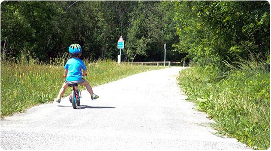 draisienne, tricycle ou vélo enfant
