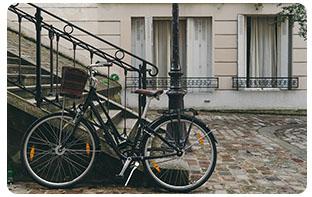 niveau d'équipements vélo urbain