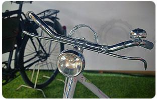 éclairage vélo urbain