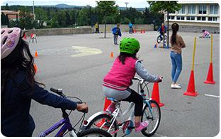 plot pour parcours vélo enfant