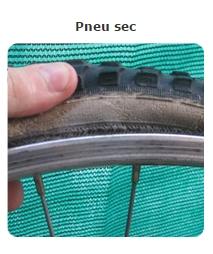 Usure pneu sec