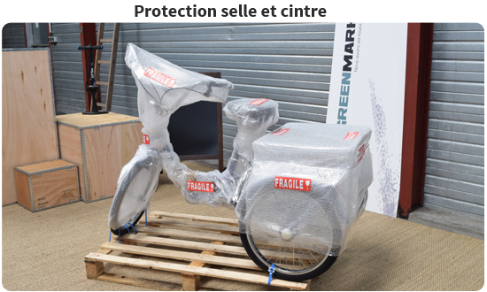 Protection complète du tricycle adulte