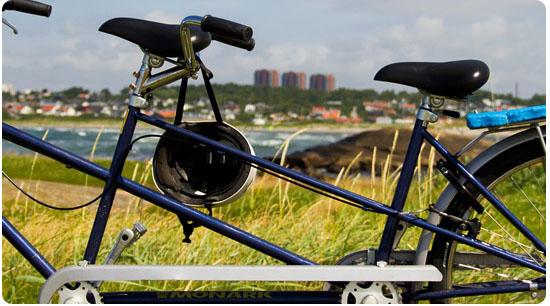 La pratique du vélo tandem