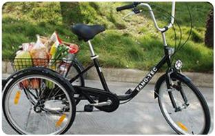 être autonome avec tricycle adulte