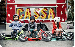 trottinettes grandes roues pour enfants