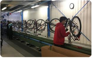 Vélo fabriqué en France : usine montage Arcade