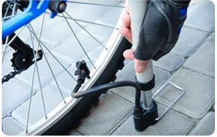 Pompe à vélo accessoire vélo français