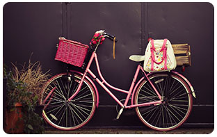 vélo urbain looké