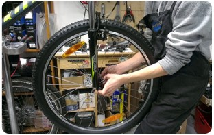 entretien professionnel vélo pliant