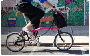 vélo pliant design
