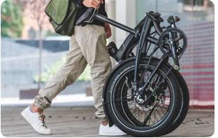 vélo pliant facile à transporter