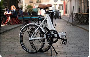 vélo plié pour camping car