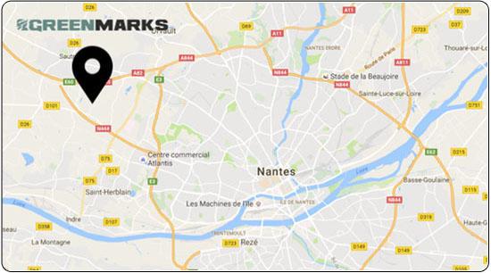 Entrepôt à Nantes de vélos tadems