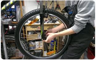 Entretien vélo français par un pro