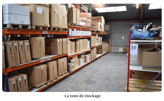 Tricycle adulte zone de stockage nantes